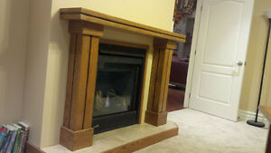 Solid Oak Fireplace Mantle - NEW Kitchener / Waterloo Kitchener Area image 6