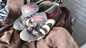 Size 13 rugby cleats