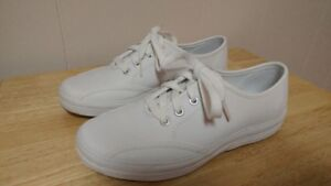 New Never Used Keds Leather Sneakers