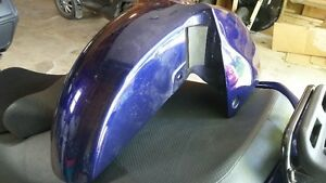 1 - front fender for a  Suzuki Burgman 650