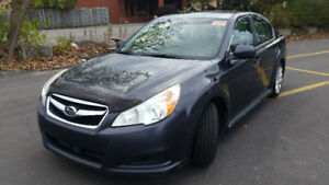 2010 SUBARU LEGACY 2.5 LIMITED AWD LTHER/SUNRF/HEATED SEATS WOW