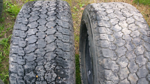 Goodyear Wranglers 6 ply 80% m&s