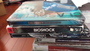 Sony Playstation 3 PS3 Games Bioshock, COD Black Ops