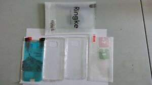Galaxy S6 case and Tempered glass - Brand new