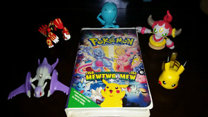 Lot de 5 Figurines Pokemon avec Vidéocassette du premier film