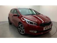 2014 Kia ceed 4 TECH Petrol red Semi Auto