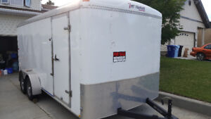 "16"" TNT box cargo trailer"