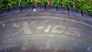 Michelin X-Ice 185/65 R14 - Winter Tires w/ Rims