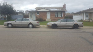 Two Buick Lasabres 1,500 OBO