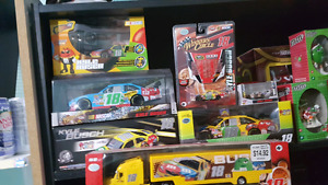 Kyle Busch diecast and m & m collectables