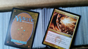 Approximately 4000 Magic Cards