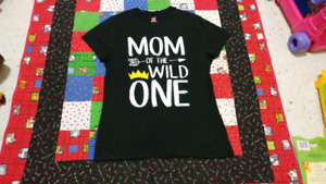 Mom of the wild one tshirt