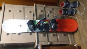 Kid/Teen Snowboard and Boots