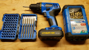 Mastercraft Drill/Driver and Accessories