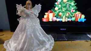 Angel top for Christmas tree decoration ornament