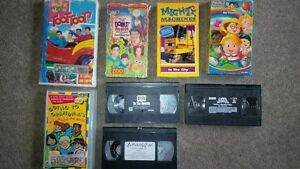 young kids VHS movies Cambridge Kitchener Area image 1
