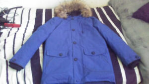 Boy's Winter Coat(lightly used) size Lg  16 (14-16) from Sears.