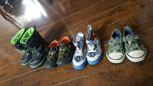 Boy shoes size 6,7, 7.5,8 all for $8