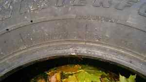 Used set of winter tires 300.00 Obo Kingston Kingston Area image 4