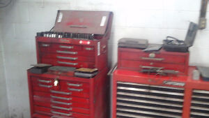 4 tool boxes full of tools and many extra