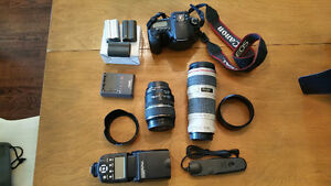 Complete Canon 20D Camera Equipment Kit