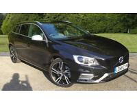 2017 Volvo V60 D6 AWD Twin Engine 300hp R DES Automatic Diesel/Electric Estate