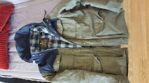 Elements Men's jacket in good condition. Wolfeboro Collection