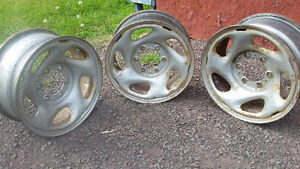 Toyota steel rims