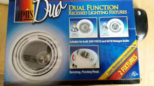OPus Duo Dual function Recessed Lighting Fixture