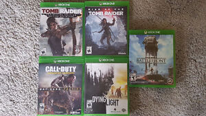 Tomb Raider - Dying Light - COD - SWBattlefront