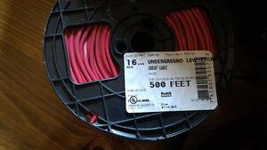 Underground wire 500-feet, 16 AWG