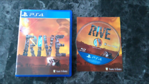 Rive for PS4 limited run games