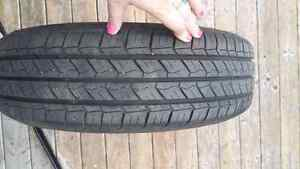 Selling new summer tires on Rims