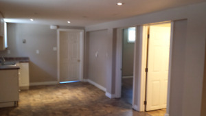 1 bedroom basement apartment available August 1st!
