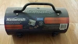 Mastercraft Angle Grinder 35-pc Accessory Kit $20 Kitchener / Waterloo Kitchener Area image 2