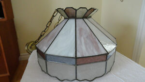 Oval Stained Glass Lamp Cambridge Kitchener Area image 3