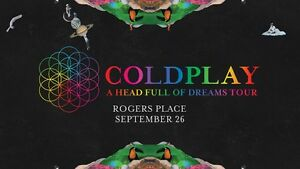 Coldplay – A Head Full Of Dreams Tour (Two Tickets) - Floor Seat