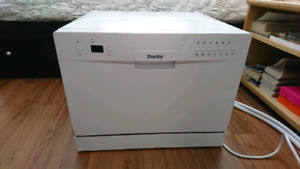 Rarely used countertop dishwasher