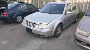 Parting Out A 2001 Volkswagen Jetta Automatic TDI