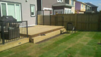 Decks, Custom Landscaping - Free Estimates