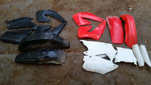 Plastics for Honda CR 250/125