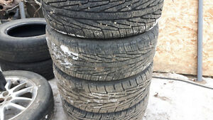 225/55/R17 tires and rims for sale