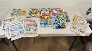 Large 1970s and 80s comic lot