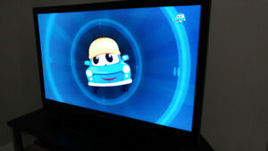 """39.5"""" Insignia LCD TV in good condition & Samsung Blu-ray player"""
