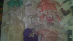 NB to 6 months clothes lots
