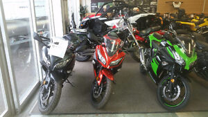 NINJA NEW SALE'S  300CC STARTING AT ( $68 BI-WEEKLY ALL IN)
