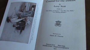 Counsel For The Defense, Leroy Scott, 1912 Kitchener / Waterloo Kitchener Area image 2