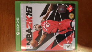 Nba 2k18 for xbox1 used but good condition