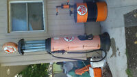 SUPERTEST clear vision gasoline pump VERY NICE rare model