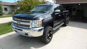 "Chev silverado 1500 with 6"" lift"